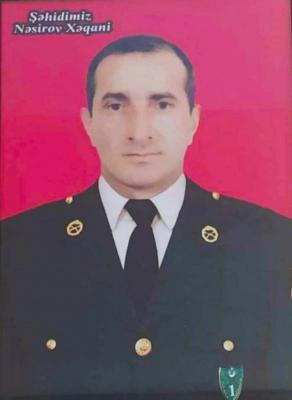 Nəsirov Xəqani:  Talış kəndinin azad olunması uğrunda gedən döyüşlərdə şəhid olub