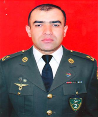 Amid Heydərov:  Tankı ilə düşmənin müdafiə xəttini yaran mayor
