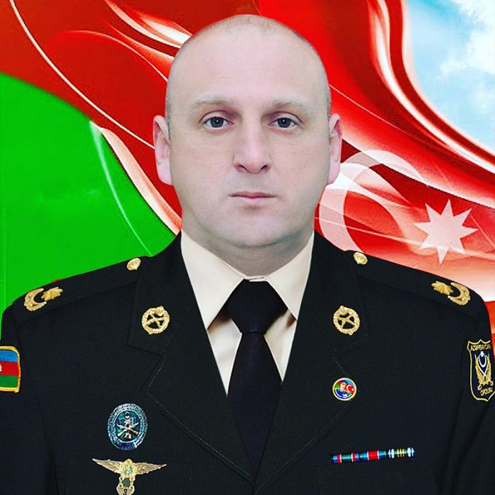 Elnur Quliyev:  İlanlı dağa bayrağımızı sancan şəhid mayor