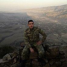 Abdullayev Elşən:  Şuşa döyüşləri zamanı şəhid olub