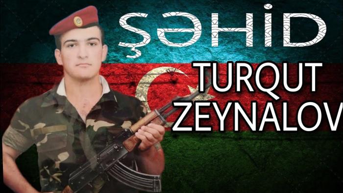 Turqut Zeynalov:  Talış kəndinin azad olunması uğrunda gedən döyüşlərdə şəhid  olub